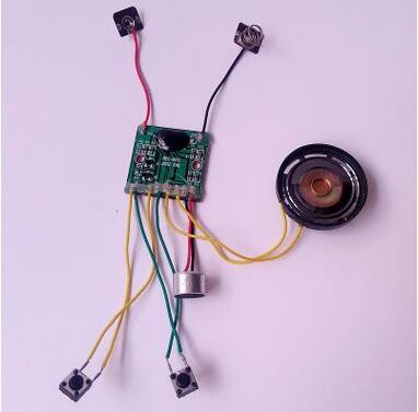 汤姆猫玩具电子配件录音变音机芯10秒-60秒可定制厂家直销