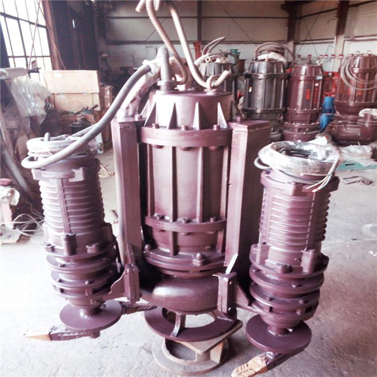 潜水渣浆泵厂家 高浓度抽砂泵价格 河北NSQ潜水耐磨吸沙泵批发