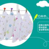 几何飞机婴儿服装纯棉双层纱布