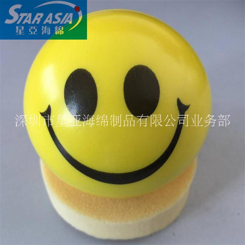 搞怪QQ表情多款PU发泡球 小孩子减压球握力球全印产品