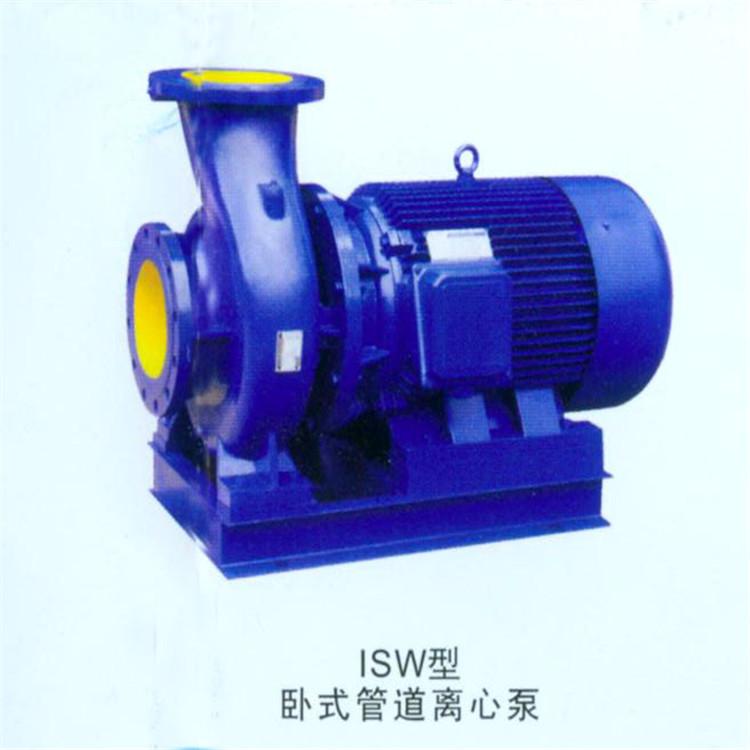 单级单吸离心泵价格 工业循环加压泵批发 ISW卧式直联管道泵厂家