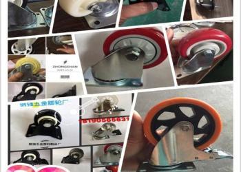 4寸活动pvc工业脚轮图片