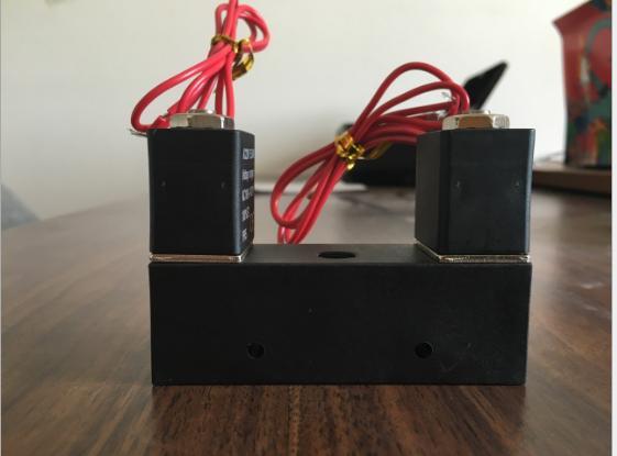 自动充气机电磁阀 连体电磁阀 充气放气电磁阀 两用电磁阀