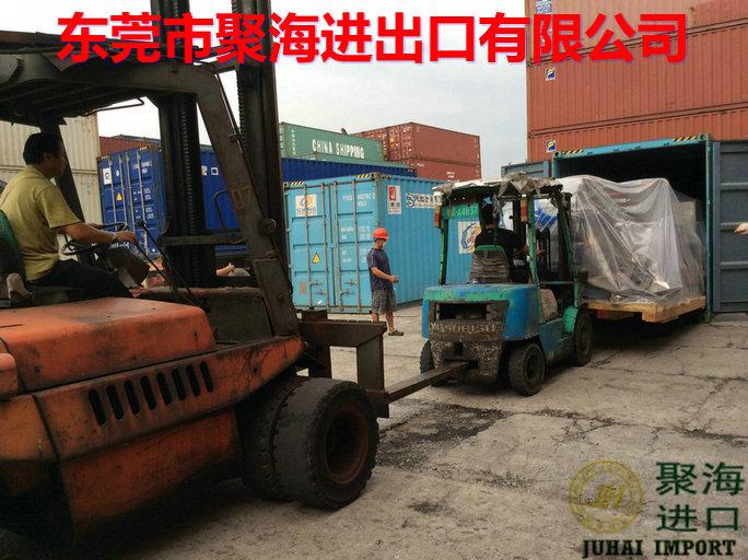 糕点生产设备二手机器台湾海运进口宁波港ECFA零关税清关代理