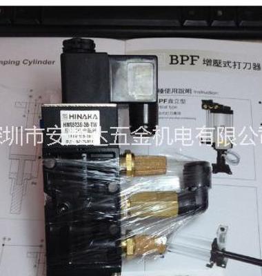 中日HINAKA五口二位电磁阀图片/中日HINAKA五口二位电磁阀样板图 (2)