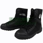 帆布靴特勤鞋保安工作鞋户外运动鞋图片