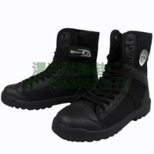 帆布靴特勤鞋保安工作鞋户外运动鞋网眼透气鞋作训靴图片