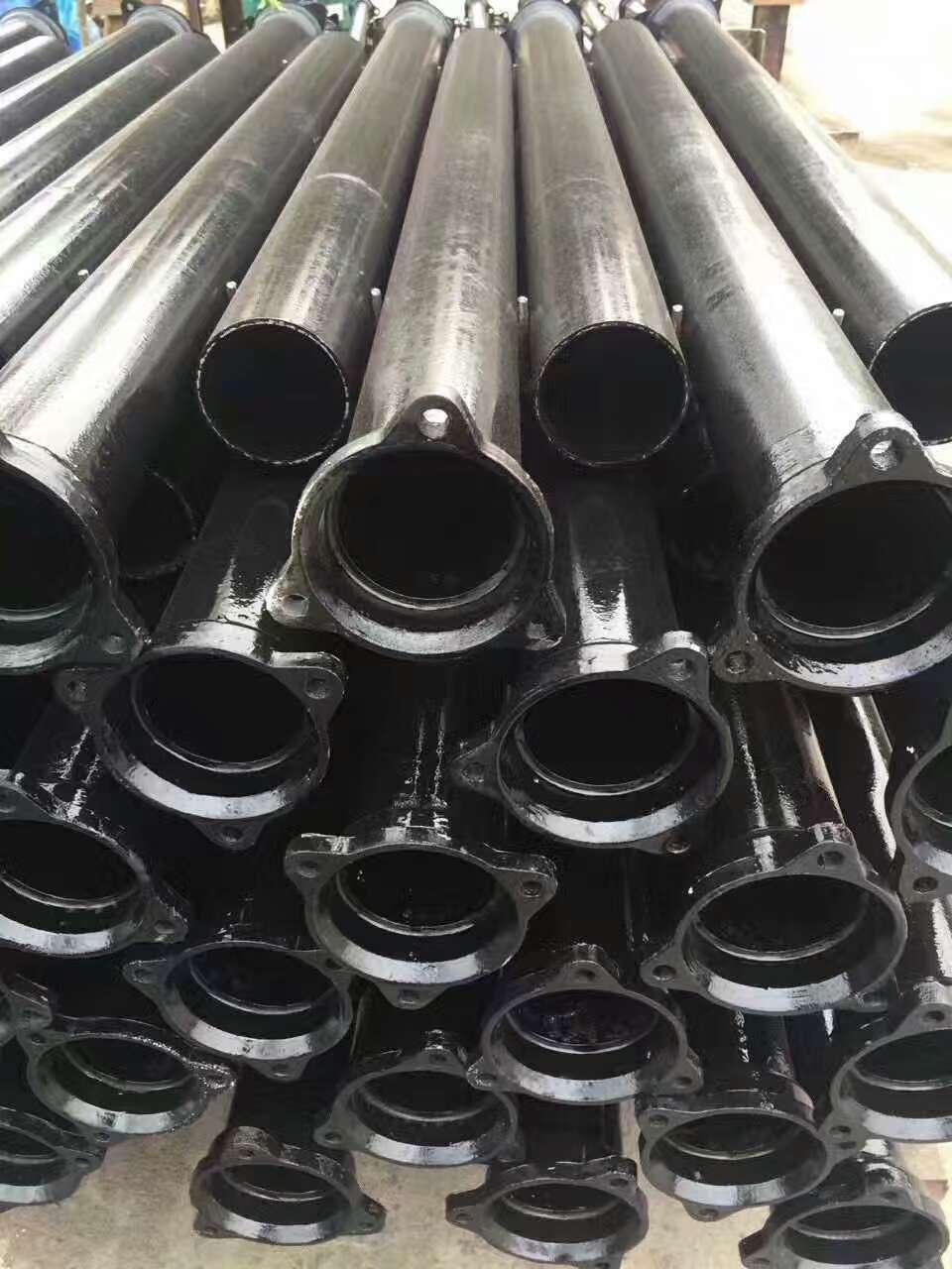 供应优质 A型柔性铸铁管DN100承插接口铸铁排水管及管件厂家