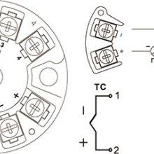 热电偶温度变送器NHR-213不隔离智能温度变送器(圆卡)批发