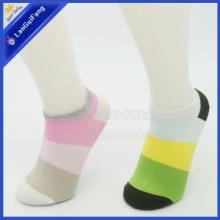 宽条纹薄款女船袜 纯棉女袜 广州女袜子厂家加工订做女袜