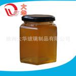厂家生产直供六棱玻璃瓶 380毫升六棱酱菜瓶  蜂蜜瓶 规格齐全 品质好 价格优