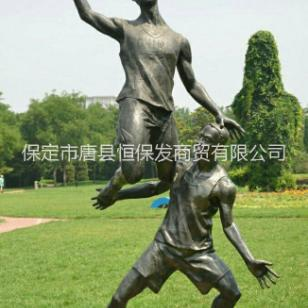 运动人物铜雕图片
