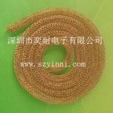金属编织丝网衬垫,铍铜金属丝网条,金属丝网衬垫条,屏蔽空心丝网条,屏蔽铍铜空心衬垫,屏蔽条