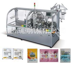 全自动酒精棉片湿巾包装机