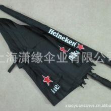 上海双层高尔夫伞厂 双层高尔夫伞 纤维骨男士商务伞 强防风伞骨批发