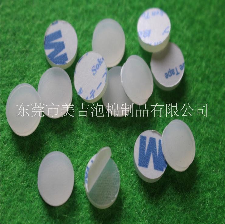 厂家直销 环保自粘硅胶垫 防震硅胶脚垫 透明硅胶垫片 3m硅胶垫