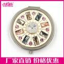 上海礼品锌合金化妆镜金属随身镜子图片