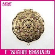 上海礼品铁质化妆镜金属随身镜子图片