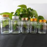 透明广口药用玻璃瓶图片