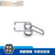 厂家供应优质不锈钢双扭簧 背包夹弹簧 异形弹簧批发