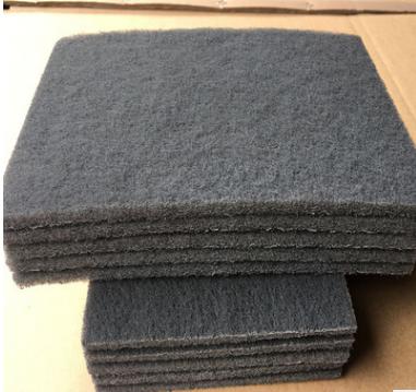 供应工业百洁布除锈布清洁抛光800#灰色含砂百洁布灰色百洁布150*230(mm)