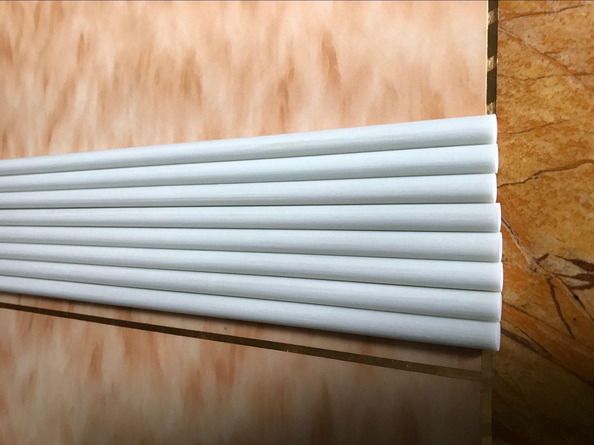 东莞祥厂家订做小拱棚5mm纤维棒玻璃纤维棒7mm高尔夫彩色方向棒