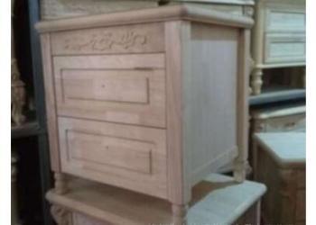 白坯床头柜图片