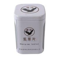 业士定制青海圣草片包装铁罐 金属食品铁罐