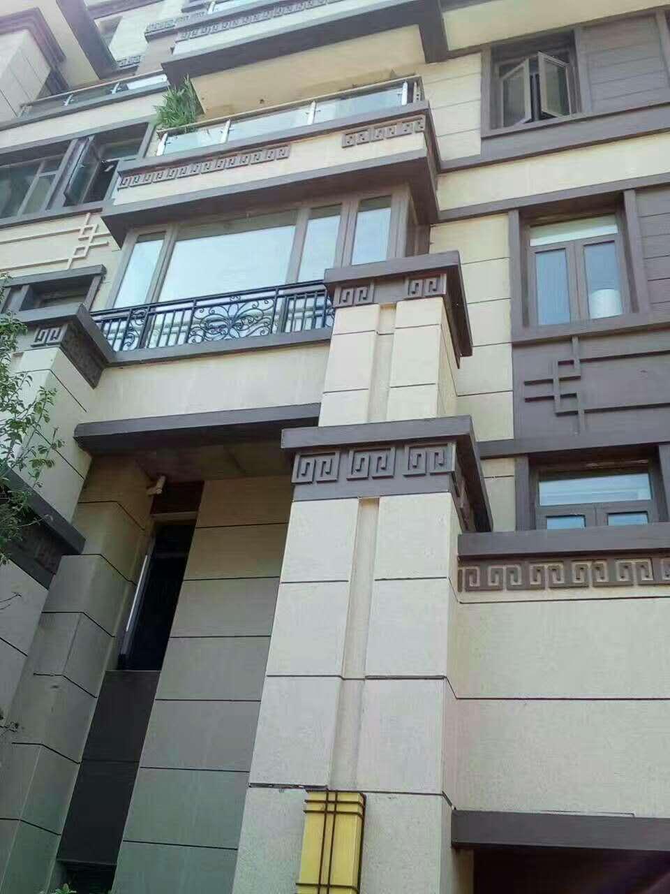 氟碳漆外墙保温装饰一体板,铝板,镀铝锌钢板保温一体板