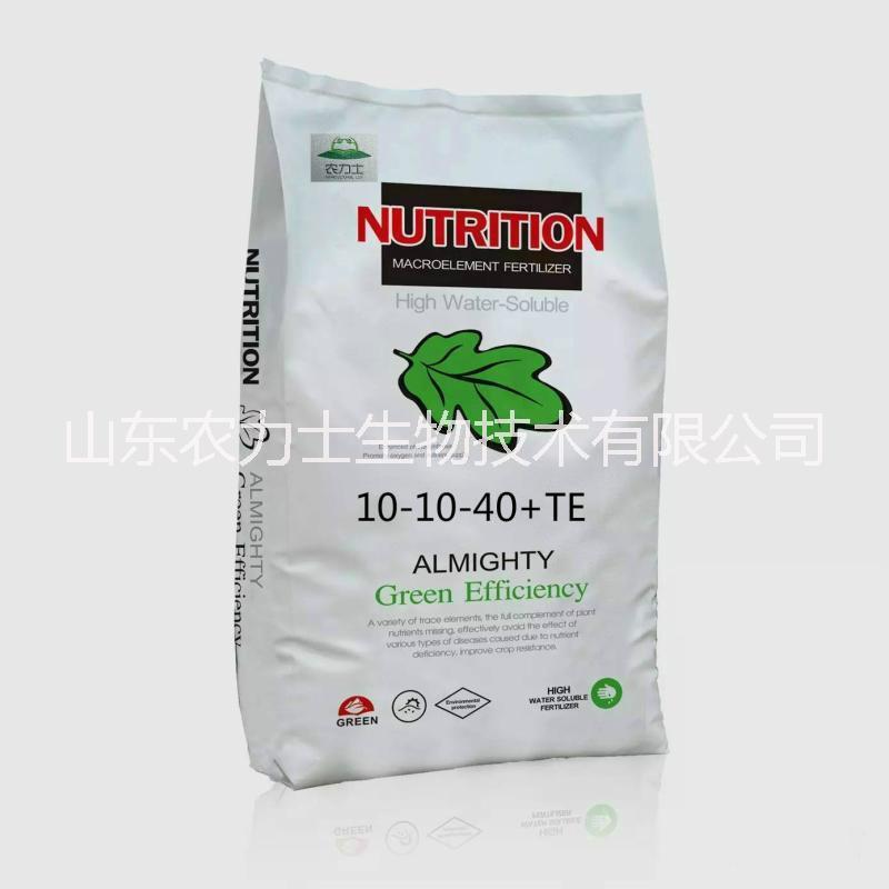 厂家供应大量元素水溶肥10-10-40