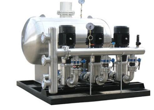 小区自动供水变频恒压供水设备 全自动变频调速稳压给水设备厂家