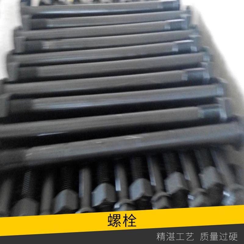 交通设施高速公路防撞护栏螺栓批发外螺纹六角氧化发黑防腐防盗卸螺栓