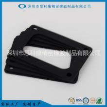 工厂定制生产精密橡胶制品硅胶垫片硅胶防水密封垫批发
