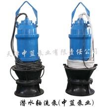 天津中蓝大口径不阻塞潜水混流泵图片