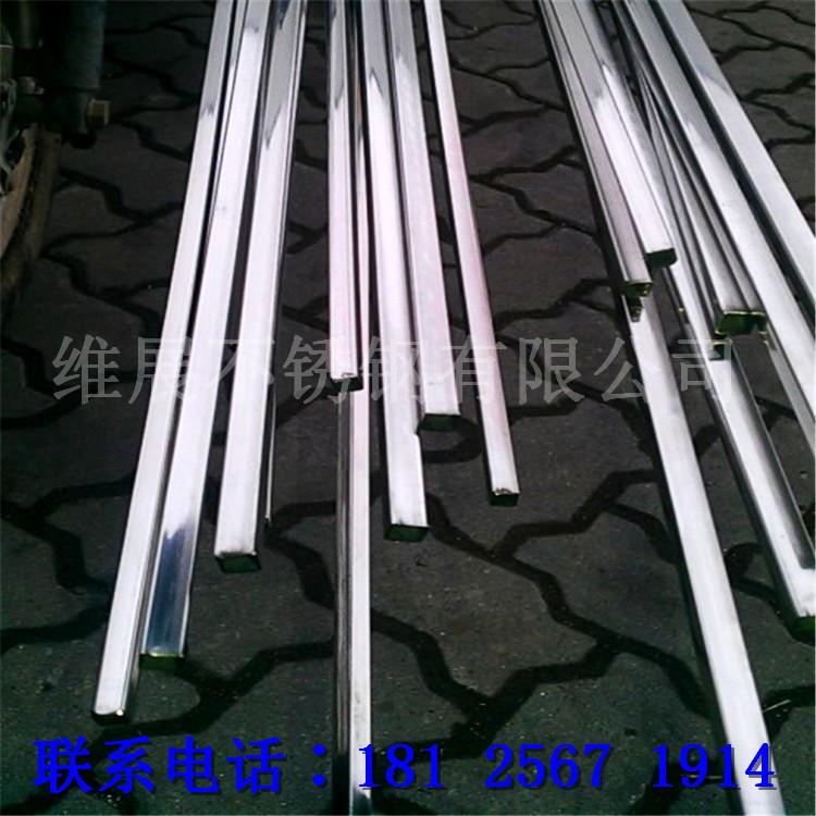 304不锈钢规格10*10*0.5不锈钢方管直径10mm