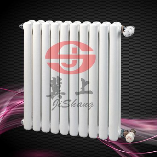 冀上钢制二柱暖气片 钢二柱散热器 低碳钢暖气片 钢制柱型暖气片