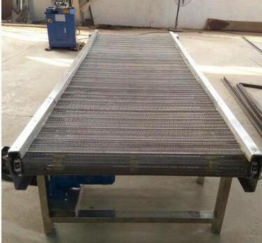厂家直销链板输送机 小型柔性链板输送机 600*20m双排链板输送机