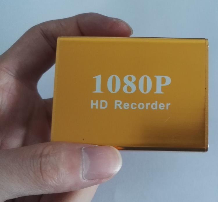 单路AHD/TVI录像机同轴高清1080P车载DVR微型高清录像机SD卡DVR