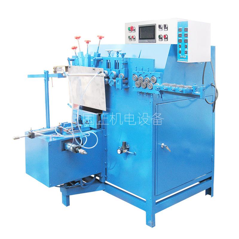 广东自动化设备厂家生产打圈焊接一体机 全自动打圈机 铁线圈生产加工机械 打圈焊接一体机铁线圈生产加工机械