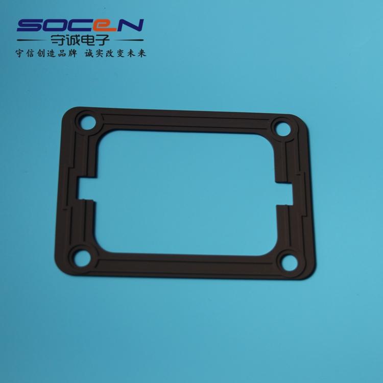 苏州硅胶制品厂家生产 新能源汽车配件硅胶密封件 防火密封垫圈