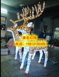 圣诞造型灯 雪花灯树灯 驯鹿造型灯 天使造型灯