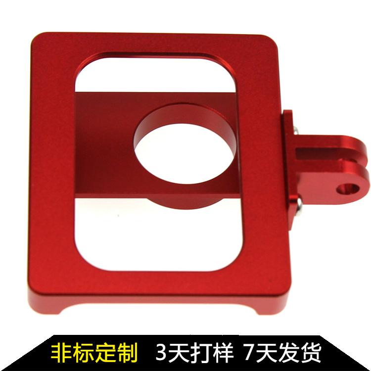 gopro配件 摄像机配件 配件铝合金多功能mini狗笼转接头