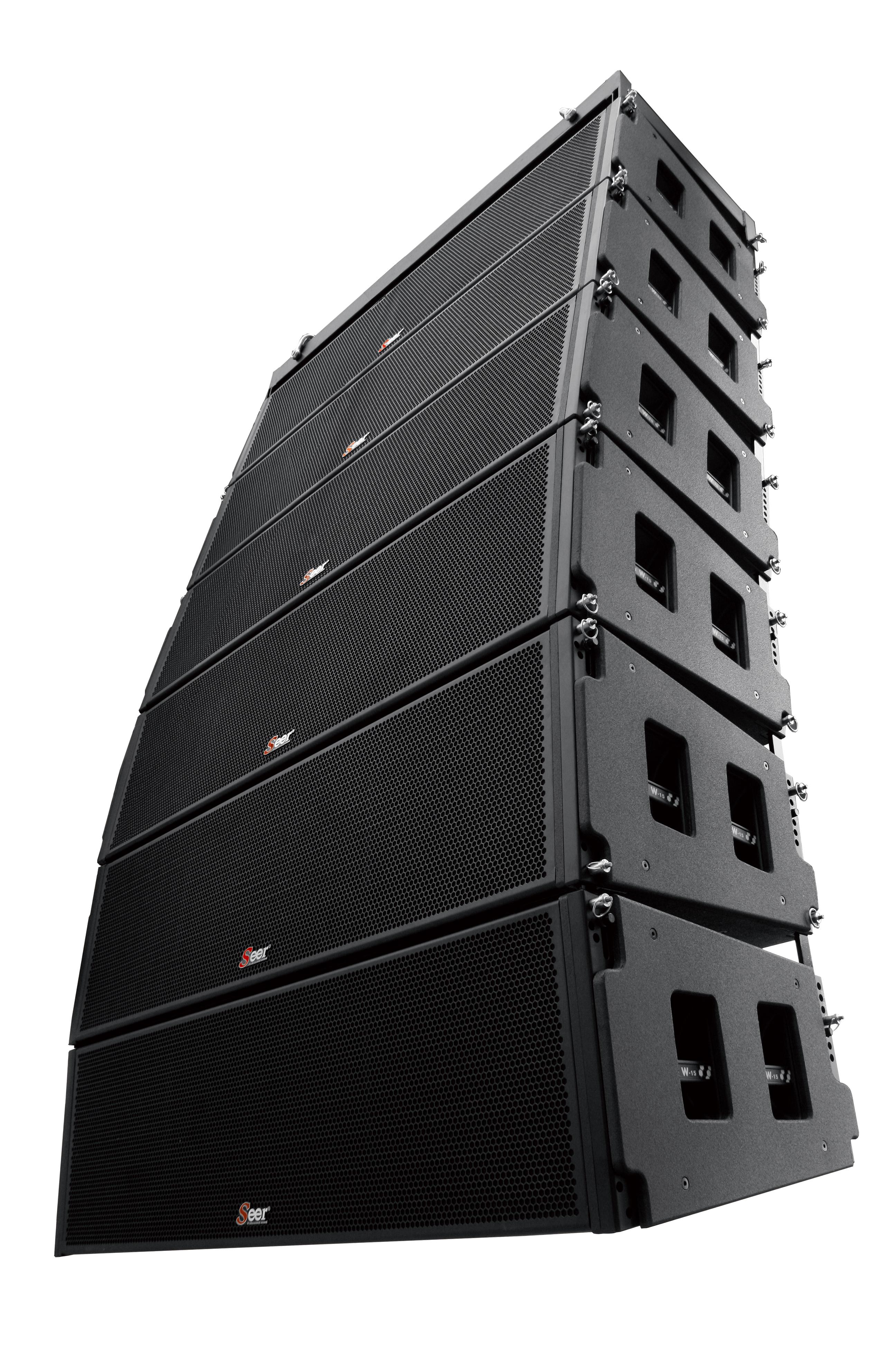 赛尔音响Seer双十五寸线阵音箱