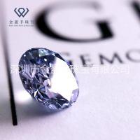 10分克拉锆石圆形锆石裸石宝石