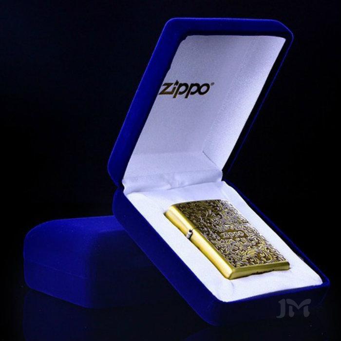 黑色蓝色高档绒布包装盒 ZIPPO打火机礼盒打火机包装盒绒盒铁盒