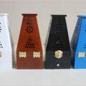 多色镂空红木雕刻工艺熏香炉图片