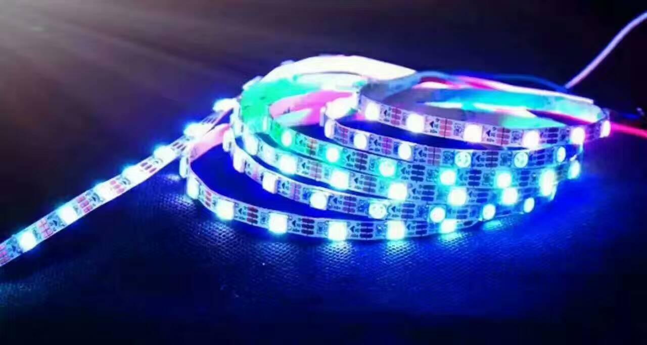 LED灯带 灯条 LED全彩灯带 LED幻彩灯条 LED防水灯带厂家直供