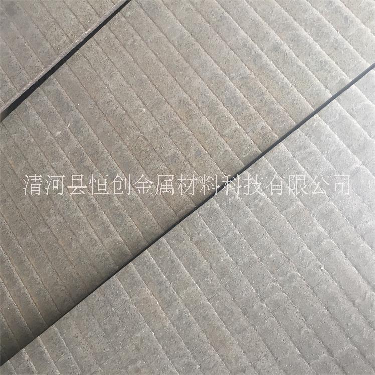 双金属复合耐磨衬板 耐磨堆焊板 10+10双金属堆焊板