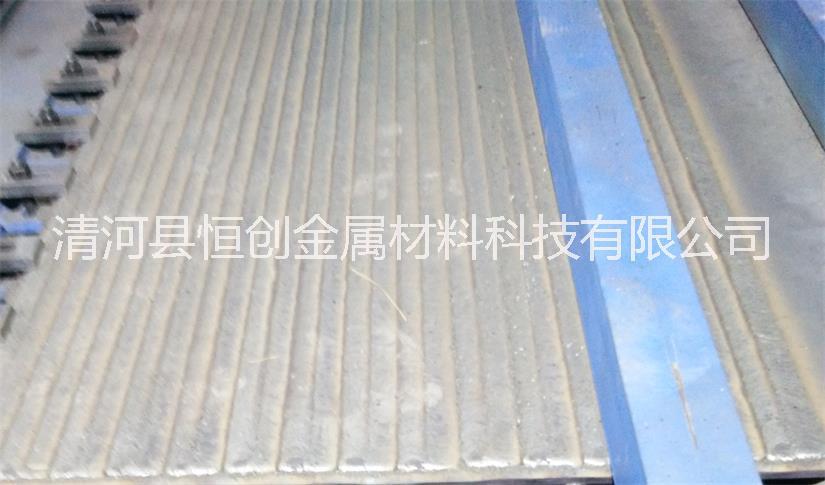 12+4 12+6堆焊耐磨钢板 双金属复合耐磨衬板