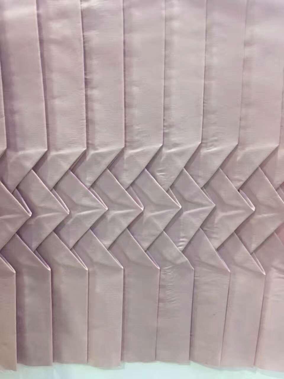 手工褶 来料定制压皱加工 雪纺  手工褶 来料定制压皱加工压褶